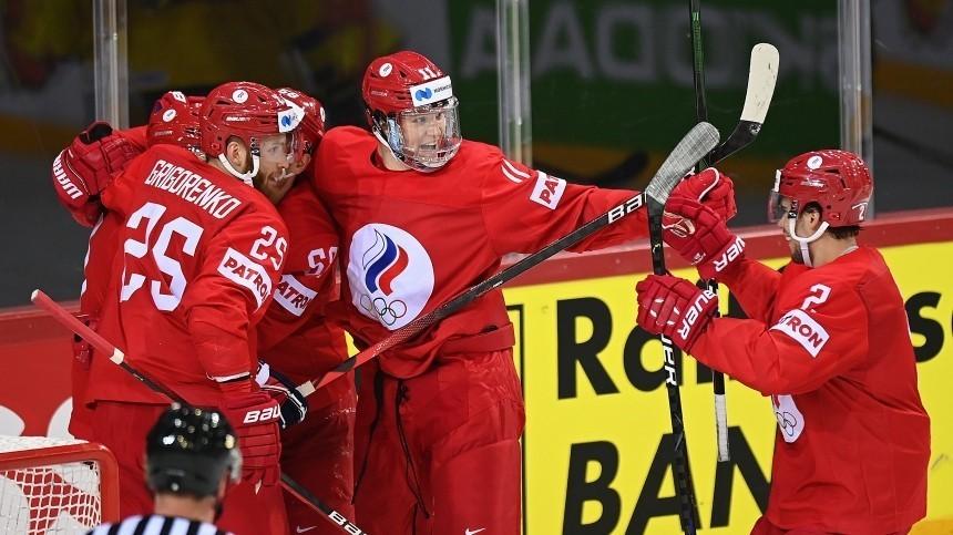 Сборная России обыграла Швецию ивышла вплей-офф чемпионата мира похоккею