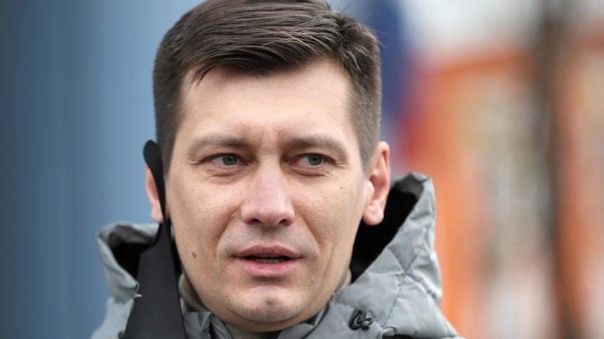 Уголовное дело возбудили вотношении Дмитрия Гудкова после обысков