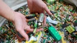 Экозабота: российские школьники собирали батарейки для спасения Земли