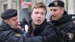 «Меня просто подставили»: опубликованы новые кадры допроса Протасевича