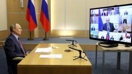 Путин пословицей объяснил Голиковой иМантурову, почему нельзя экономить намедицине
