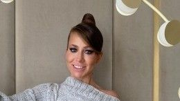 Тонкий намек? Юлия Барановская вышла всвет вплатье невесты— видео