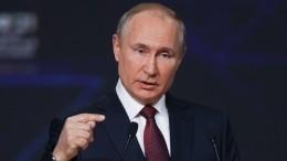 Кормить небудем: Путин наПМЭФ ответил напретензии Зеленского про транзит газа