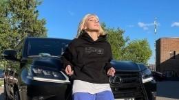 «Блин, стойте!»— Коваль показала эвакуацию Lamborghini Ивлеевой спремии Муз-ТВ