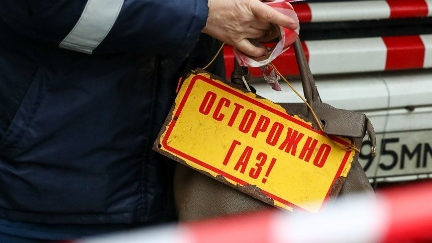 Очевидцы сообщают овзрыве газа вквартире вПетербурге