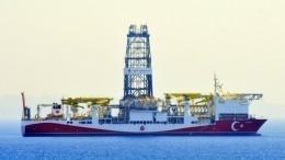 Турция обнаружила новое месторождение газа вЧерном море