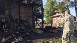СКвозбудил дело пофакту гибели троих детей напожаре под Пермью