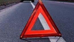 Семь автомобилей столкнулись наКутузовском проспекте вМоскве— видео