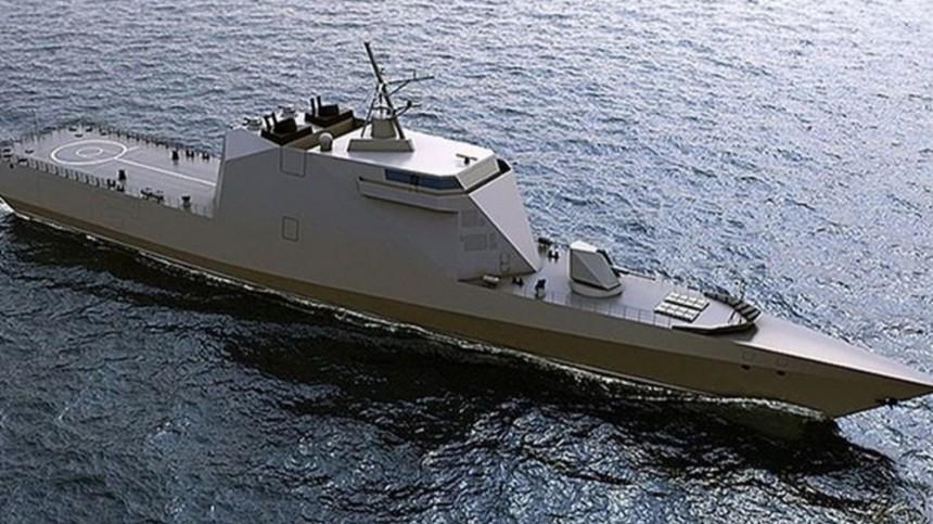Российский флот готовится кзапуску новейшего корабля-невидимки