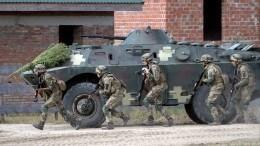 Украина входе учений НАТО отработает «войну сРоссией»