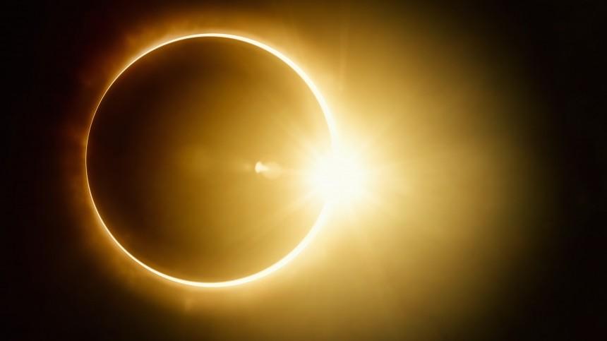 Где вРоссии можно будет увидеть кольцеобразное солнечное затмение 10июня?