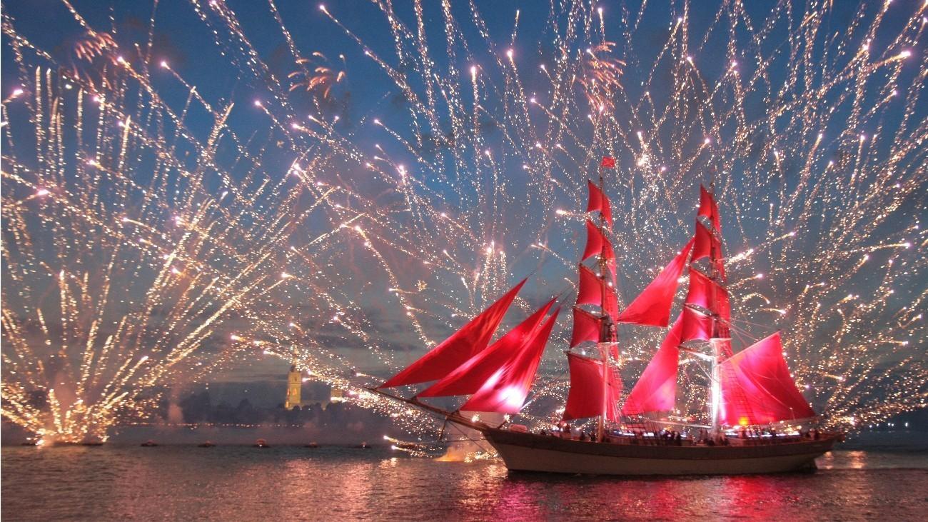 «Алые паруса» вцифрах: Считаем залпы фейерверков имеждународные награды