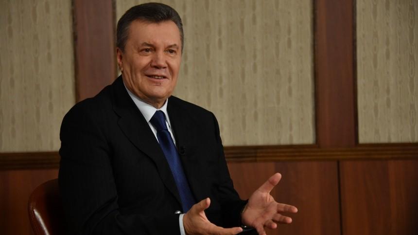 Янукович ссыном выиграли суд против Совета ЕСподелу озаморозке ихактивов