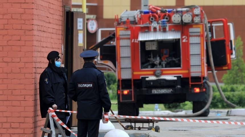 Вспышка— ивсе вогне: опубликовано видео начала пожара врязанской больнице