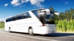 Первый автобус изЭстонии прибыл вПетербург после ковидных ограничений