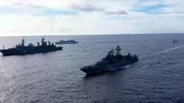 Россия начала масштабные учения вцентральной части Тихого океана— видео