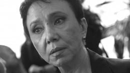 Траур всвязи сосмертью Ларисы Шойгу объявили вРеспублике Тыва
