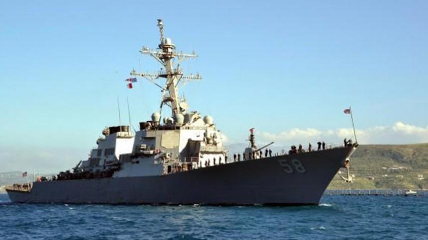 Черноморский флот приступил кслежению заэсминцем ВМС США «Лабун»