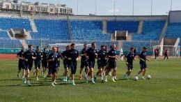 Вбоевой готовности: Сборная РФпровела тренировку перед матчем сБельгией
