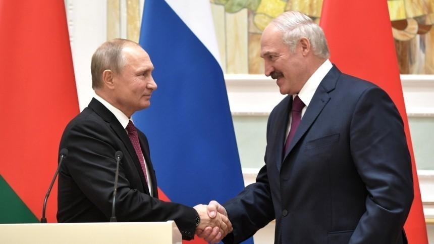 ВДень России Лукашенко заявил, что отношения Белоруссии иРФбудут развиваться
