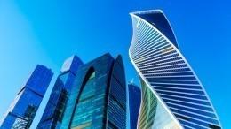 Опубликованы фото выпавшей с86 этажа башни «ОКО» вбизнес-центре «Москва –сити»
