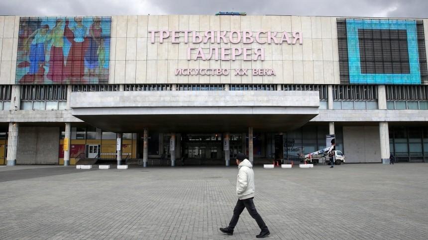Путин вДень России посетил масштабную выставку русского искусства вТретьякове