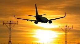 Самолет совершил аварийную посадку вмосковском «Шереметьево»