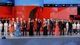 Резиденты арт-кластера «Таврида» исполнили гимн России наКрасной площади
