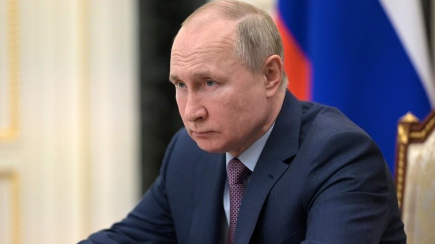 Путин поделился ожиданиями отпереговоров сБайденом иназвал ихосновные темы
