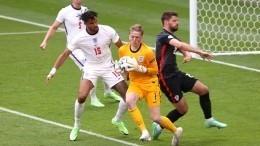 Сборная Англии обыграла Хорватию вматче Евро-2020