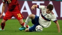 Фернандес несогласен, что был лучшим игроком сборной России вматче сБельгией