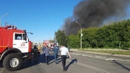 Число пострадавших при взрыве АЗС вНовосибирске возросло вдва раза