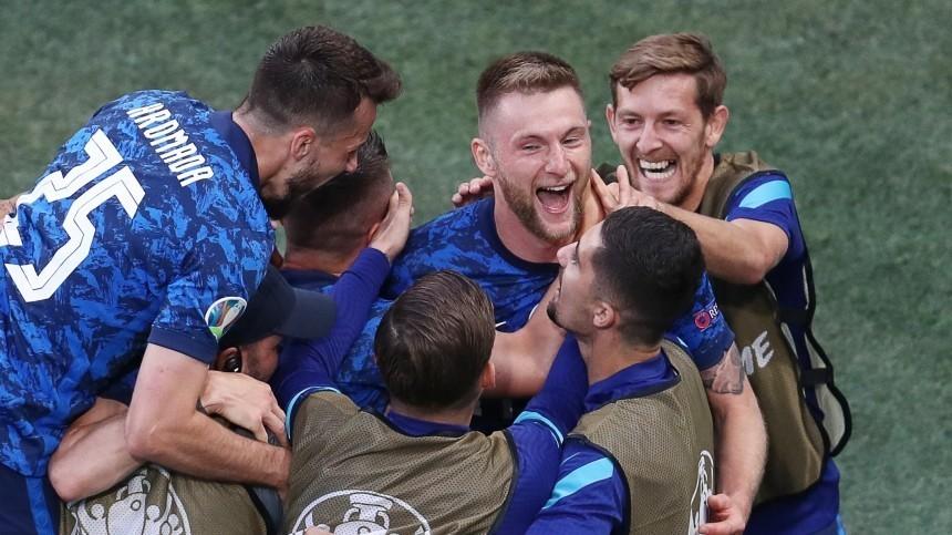 Ахилл промахнулся: Словакия одержала победу над сборной Польши вматче ЧЕ-2020