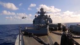 Невероятные кадры масштабных учений кораблей иавиации ВСРФвТихом океане