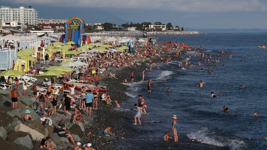 ВРостуризме заявили оперегрузке Черноморского побережья
