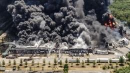Тушить небудут: пожар нахимзаводе вСША может обернуться экологическим бедствием