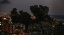 ВВС Израиля нанесли удары пообъектам ХАМАС всекторе Газа