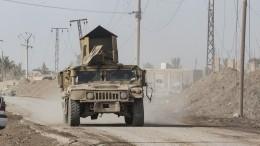 Жители сирийской деревни забросали камнями колонну ВССША