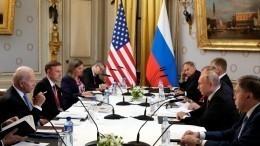 Делегаты изСША рассказали, ккаким договоренностям должны прийти Байден иПутин