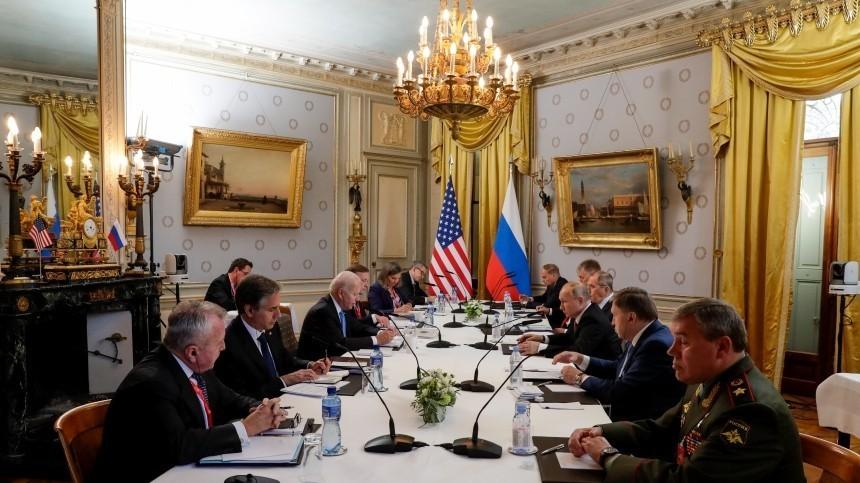 Путин иБайден обсудили обмен заключенными между Россией иСША