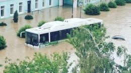 Утонувшие автобусы, затопленные дома, ушедшие под воду авто: вКерчи апокалипсис из-за ливня