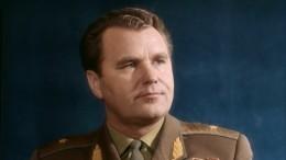 Космонавта Шаталова проводили впоследний путь своенными почестями
