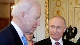 «Надо очень внимательно сним работать»: Путин рассказал овстрече сБайденом