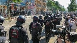 Встолкновениях слеворадикалами вБерлине пострадали более 60 полицейских