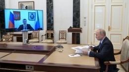 Путин пожелал Дегтяреву успехов навыборах главы Хабаровского края