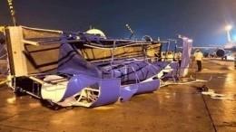 Три самолета столкнулись виндийском аэропорту вовремя шторма