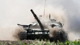 Наперекор жаре ипыли: вСирии готовятся к«Танковому биатлону»