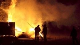 Нагазопроводе вцентре Луганска прогремел взрыв