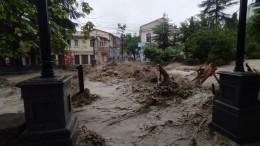 Вутонувшей Ялте ввели режим ЧСиз-за последствий сильных дождей