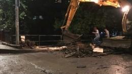 «Разбираем завалы»: мэр утонувшей Ялты рассказала оситуации вгороде